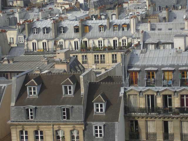 Мансарды Парижа