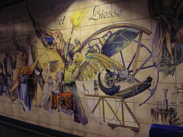 Метро. Станция Bastille