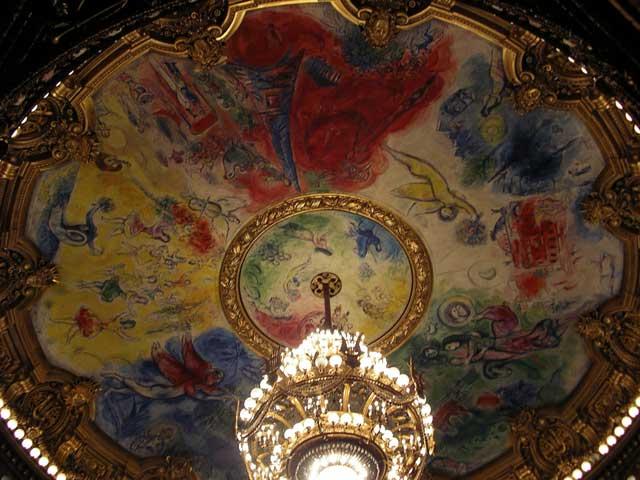 Плафон Opera Garnier
